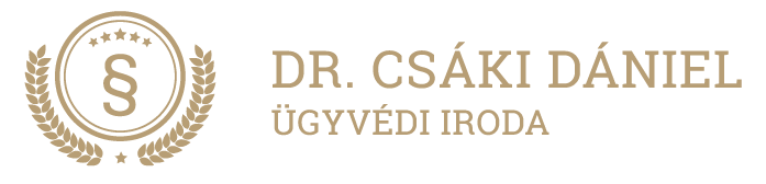 Dr. Csáki Dániel Ügyvédi Iroda